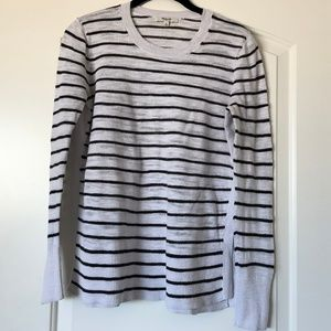 Madewell Sunview Sweater in Stripe Medium